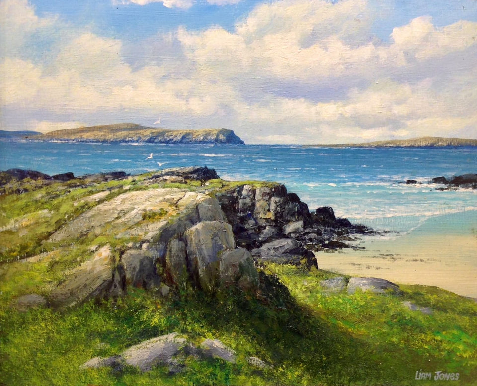Carrickfinn Co.donegal Original Artwork
