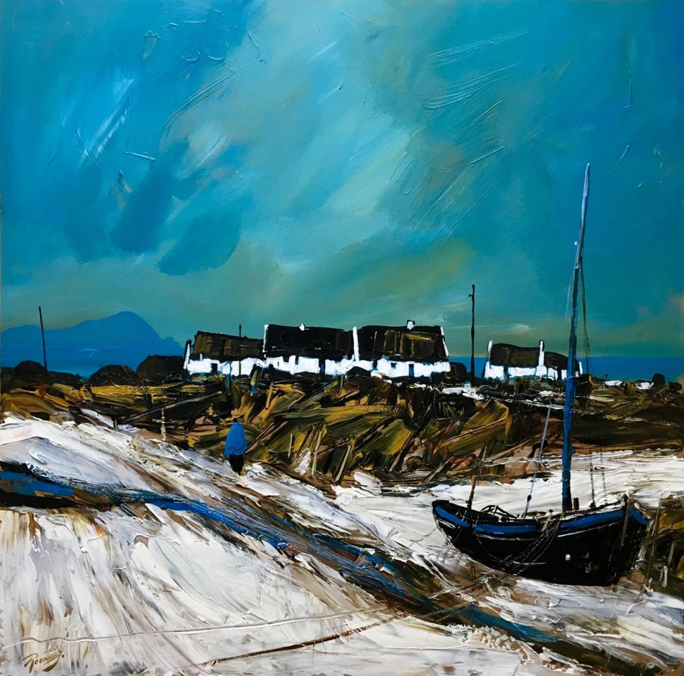 Clear Sky Achill. Original Artwork