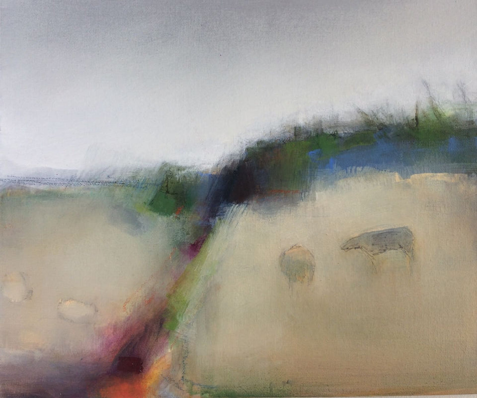 Cows In The Quiet Original Artwork