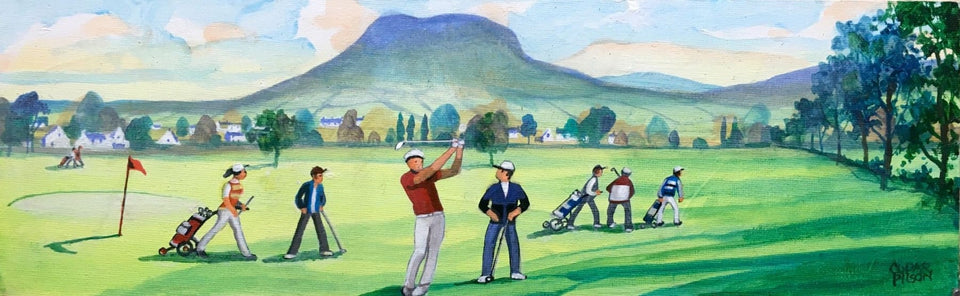 Cushendall Golf Club Co.antrim Original Artwork
