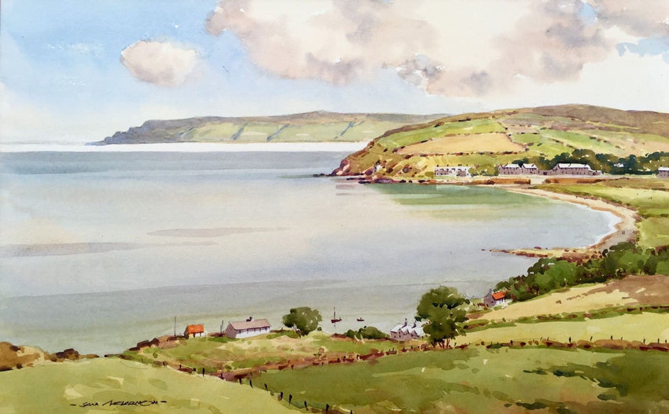 Cushendun Bay South Co.antrim Original Artwork
