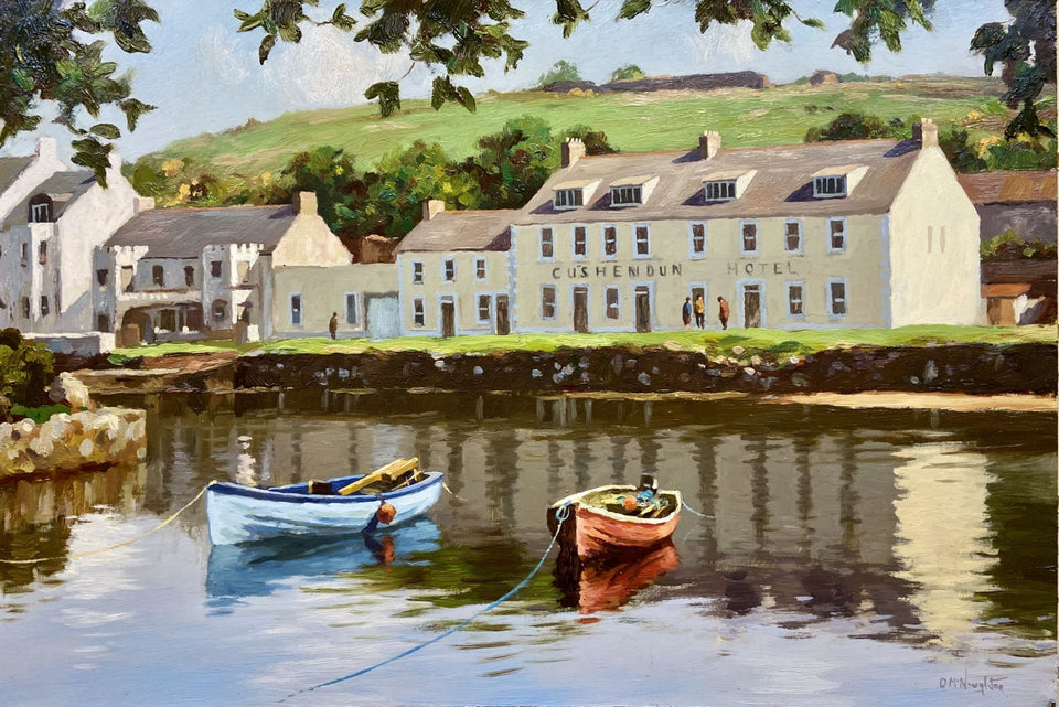 Cushendun Harbour Co.antrim Original Artwork