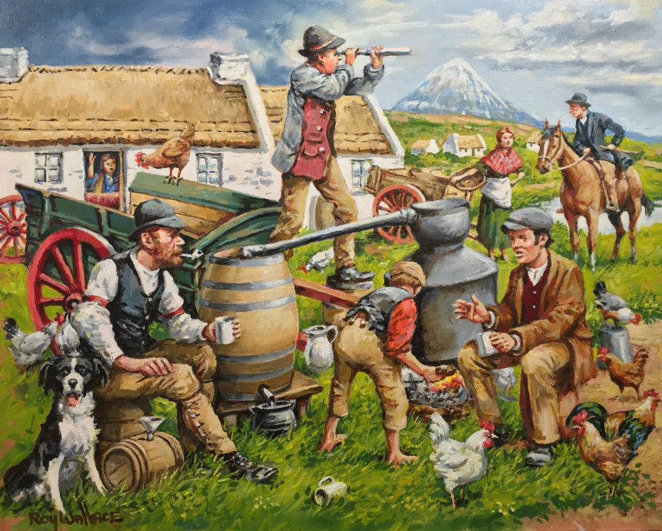 Donegal Poteen Makers Original Artwork
