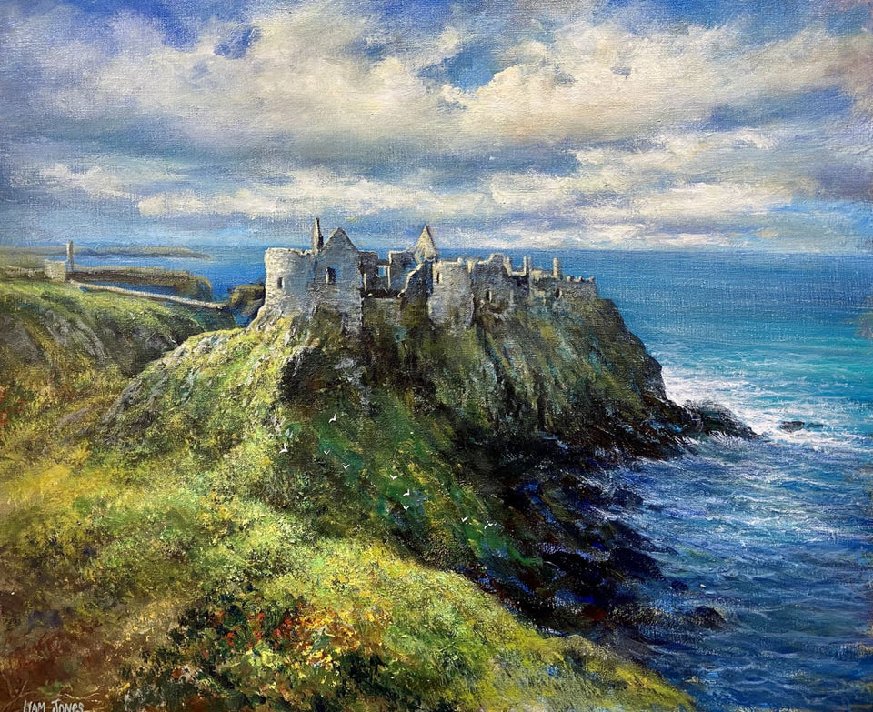 Dunluce Castle Portrush Co.antrim Original Artwork
