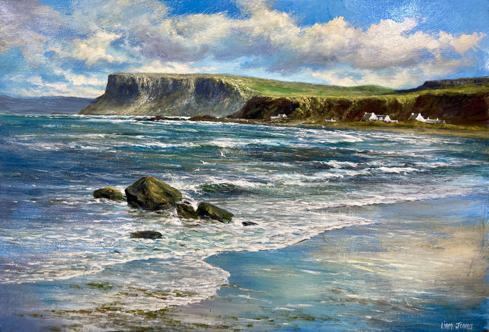 Fairhead Ballycastle Co.antrim Original Artwork