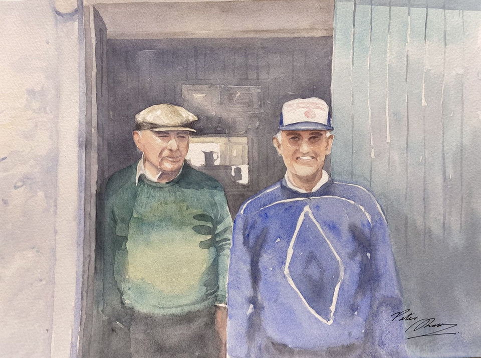 Gentlemen Of Sneem Co.kerry Original Artwork