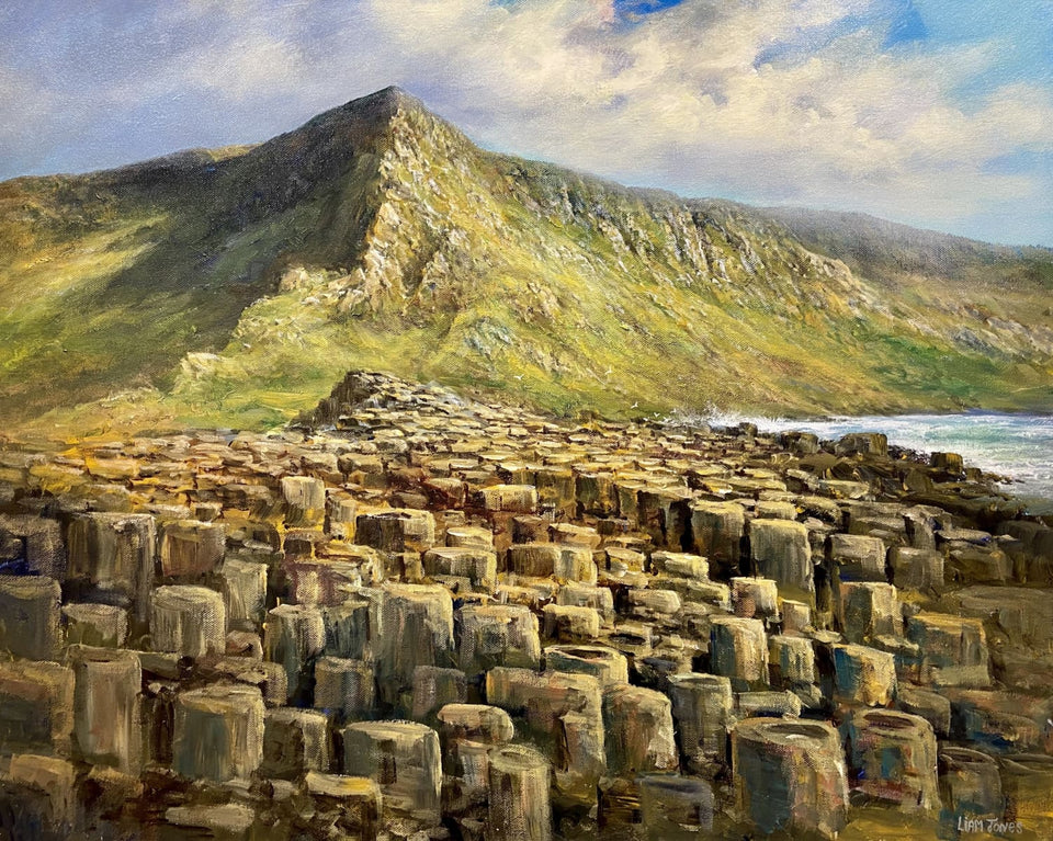 Giants Causeway Co.antrim Original Artwork