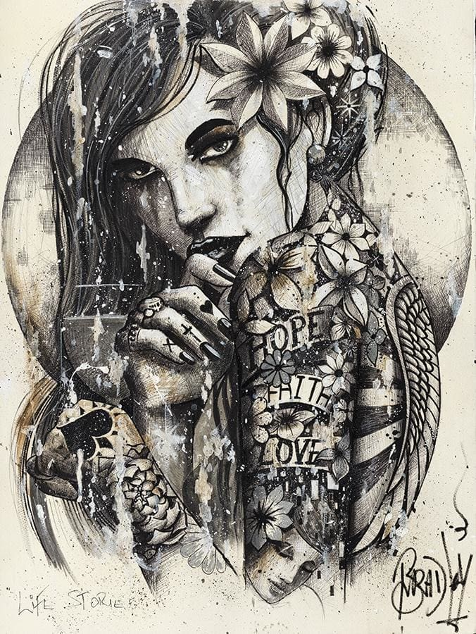 Hope Faith Love Signed Limited Edition Print