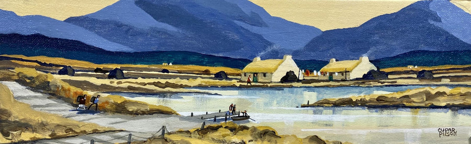 In Old Connemara Original Artwork