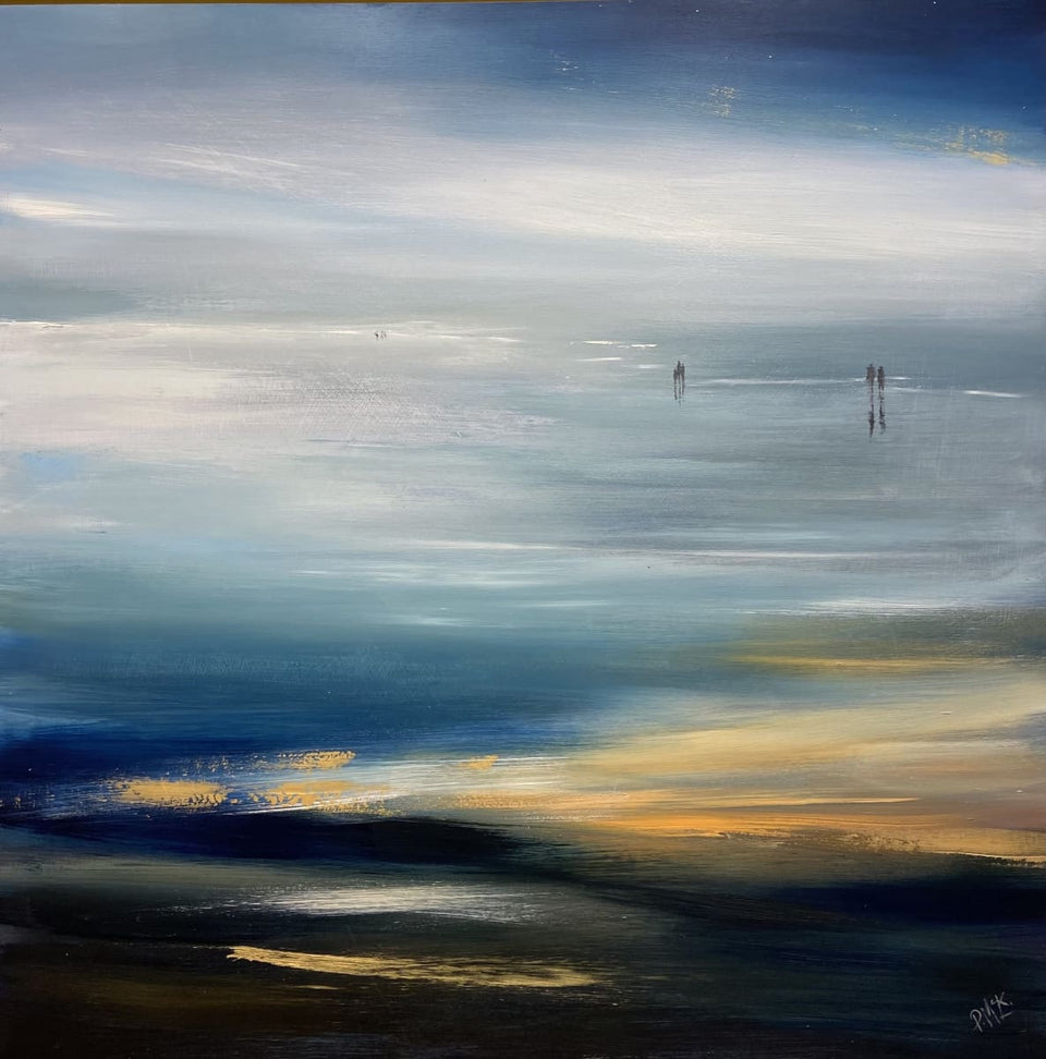 Morning Haze By The Waters Edge Original Artwork