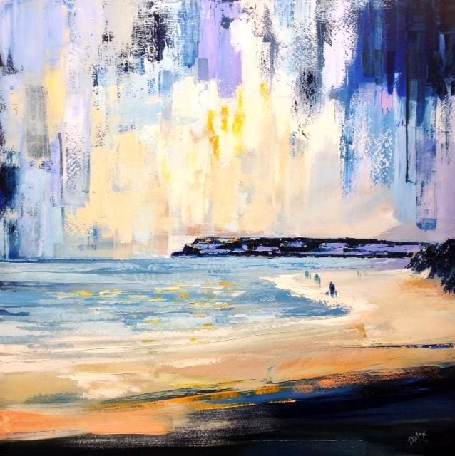 Morning Light Ballycastle Co.antrim Original Artwork
