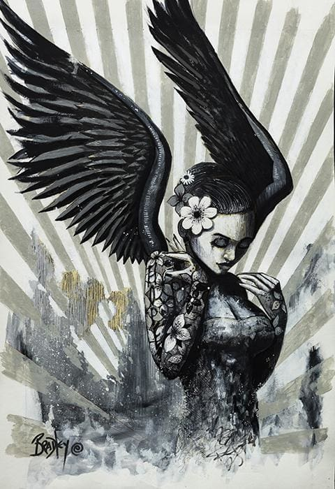 My Angel Ii Signed Limited Edition Print