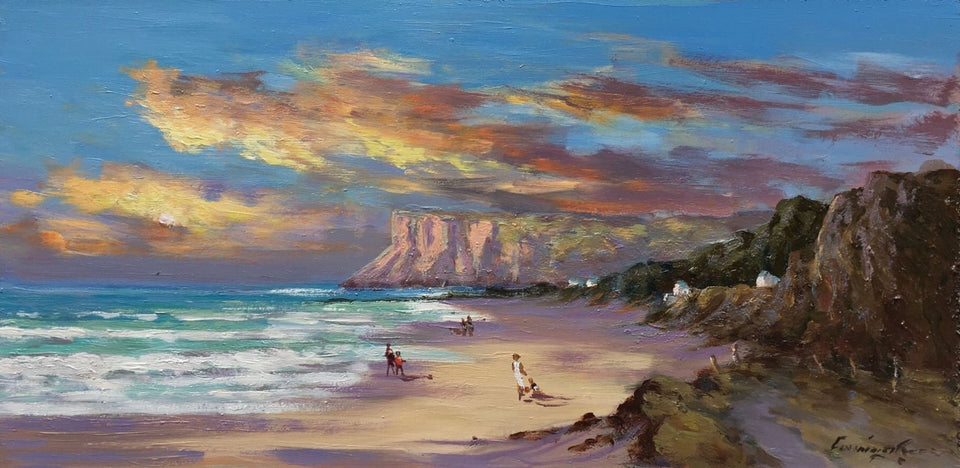 Near Fairhead Ballycastle Co.antrim Original Artwork