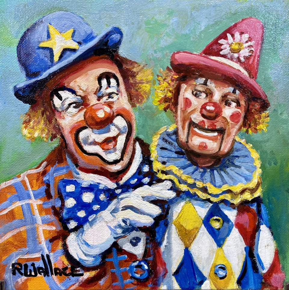 Party Clown - Sammy Sneeze & Smirko Original Artwork