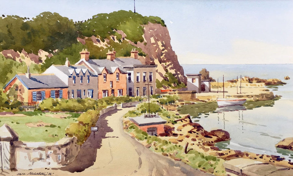 Portbradden Co.antrim. Original Artwork