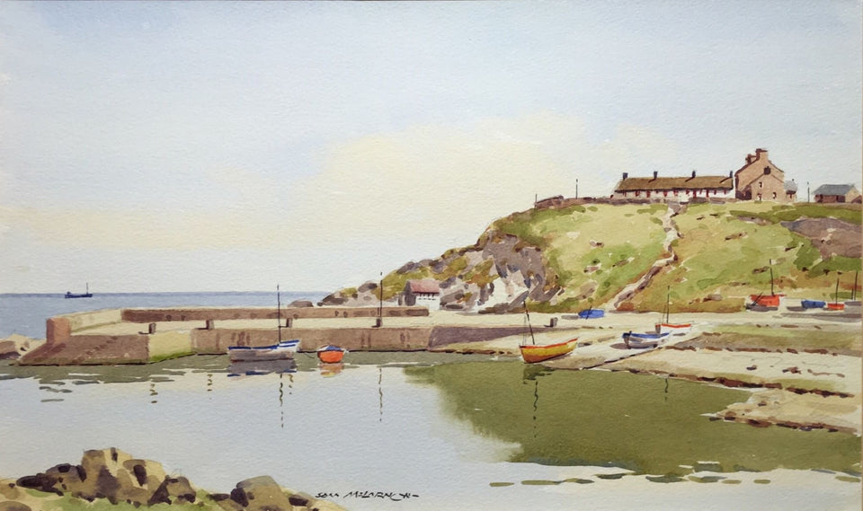 Portmuck Harbour Islandmagee Co.antrim Original Artwork