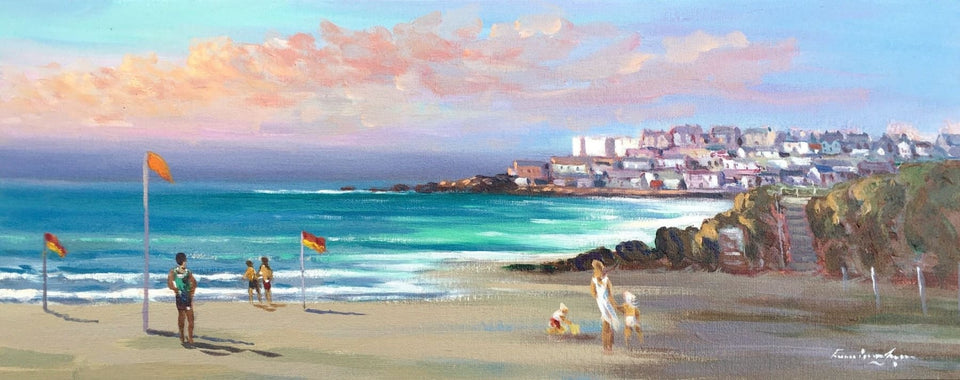 Portstewart From The Strand Original Artwork