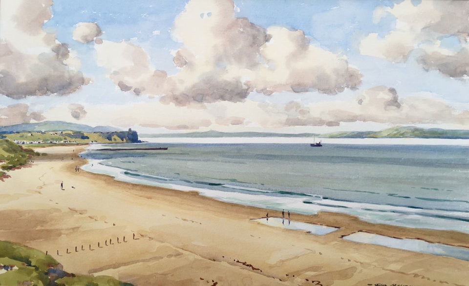 Portstewart Strand Original Artwork