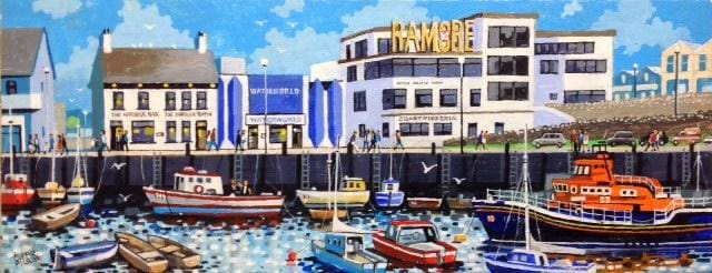 Ramore Portrush Co.antrim Original Artwork