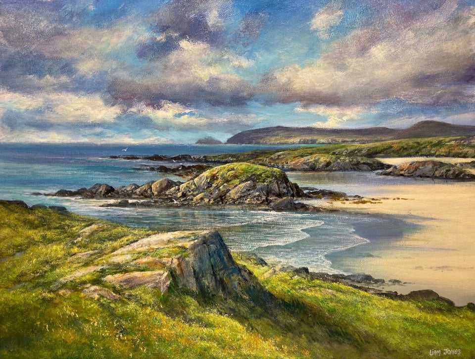 Receding Tide Co.donegal. Original Artwork