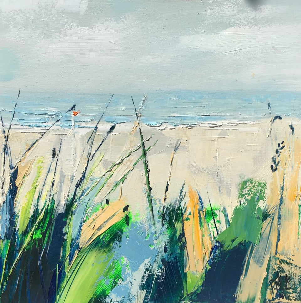 Sand Dune Foliage Original Artwork