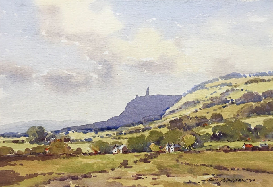 Scrabo Tower Newtownards Co.down Northern Ireland Original Artwork