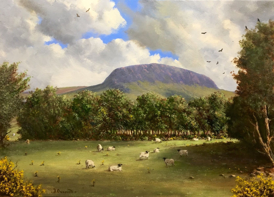 Slemish Co.antrim Original Artwork