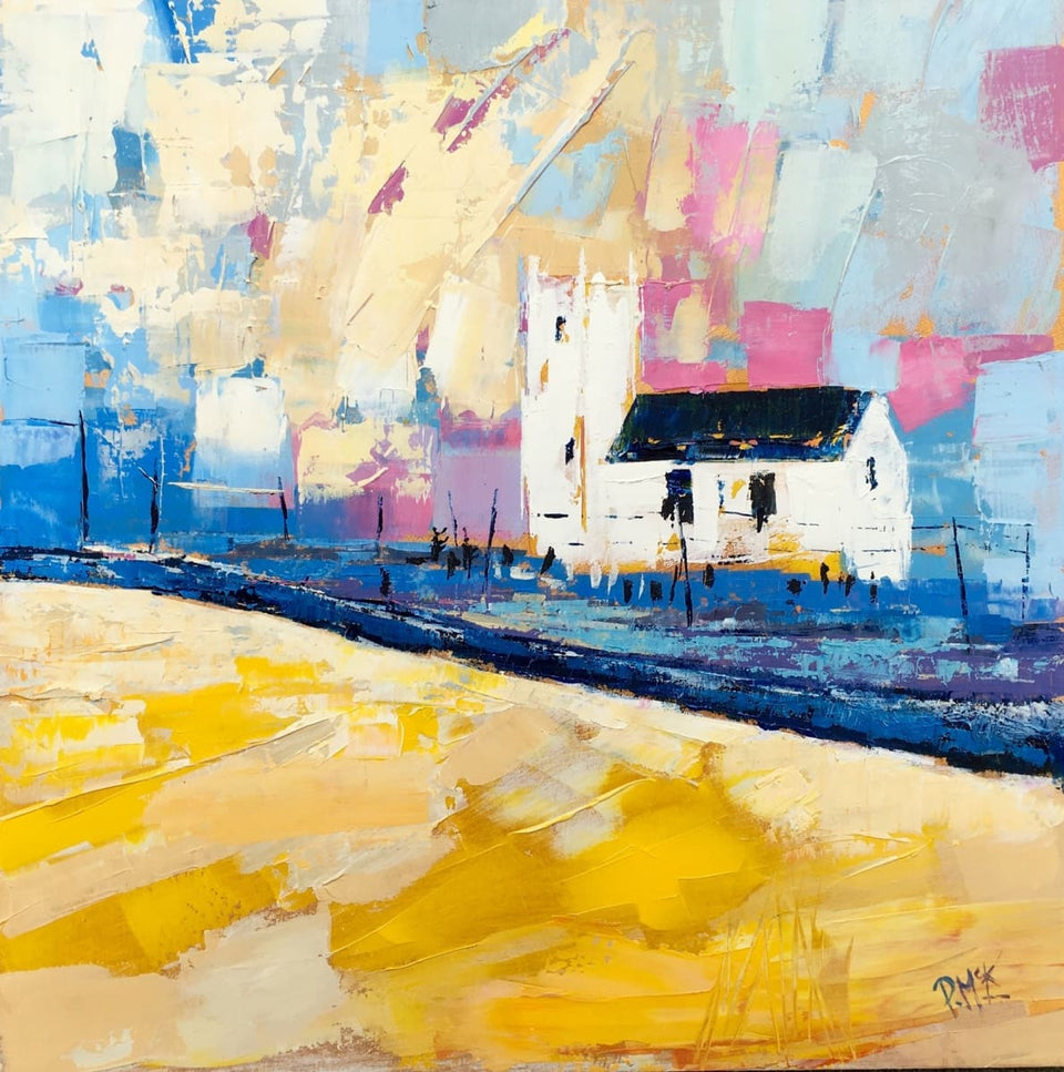 Summer At Ballintoy Co.antrim Original Artwork