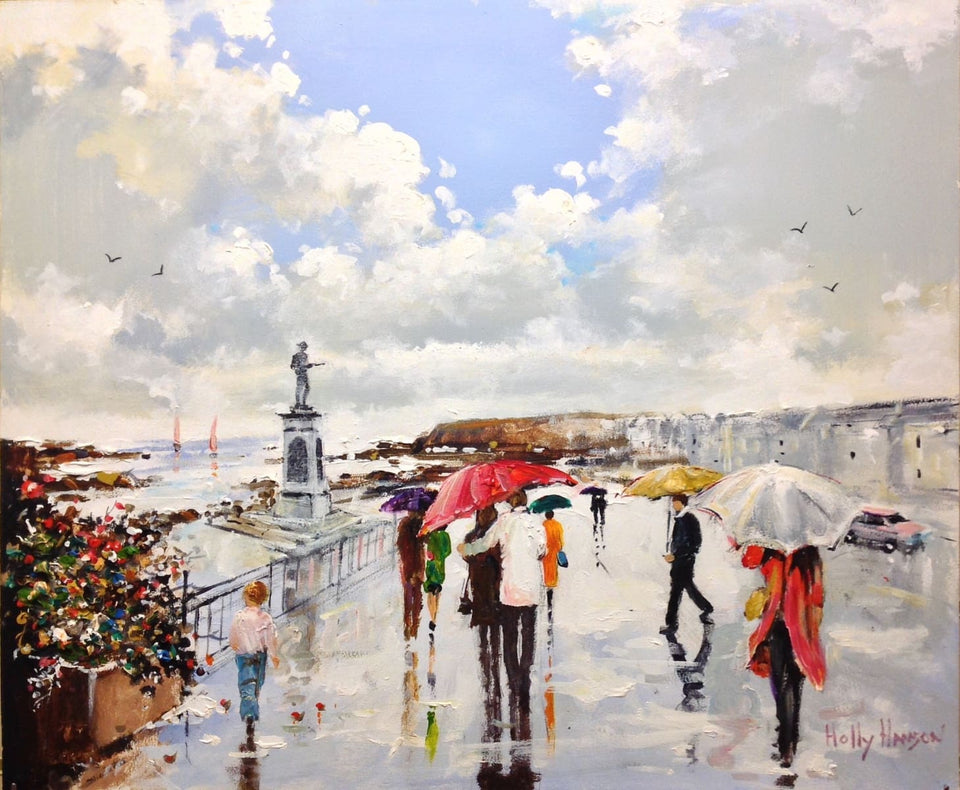 Original Irish Artwork Summer Showers Portstewart Ireland