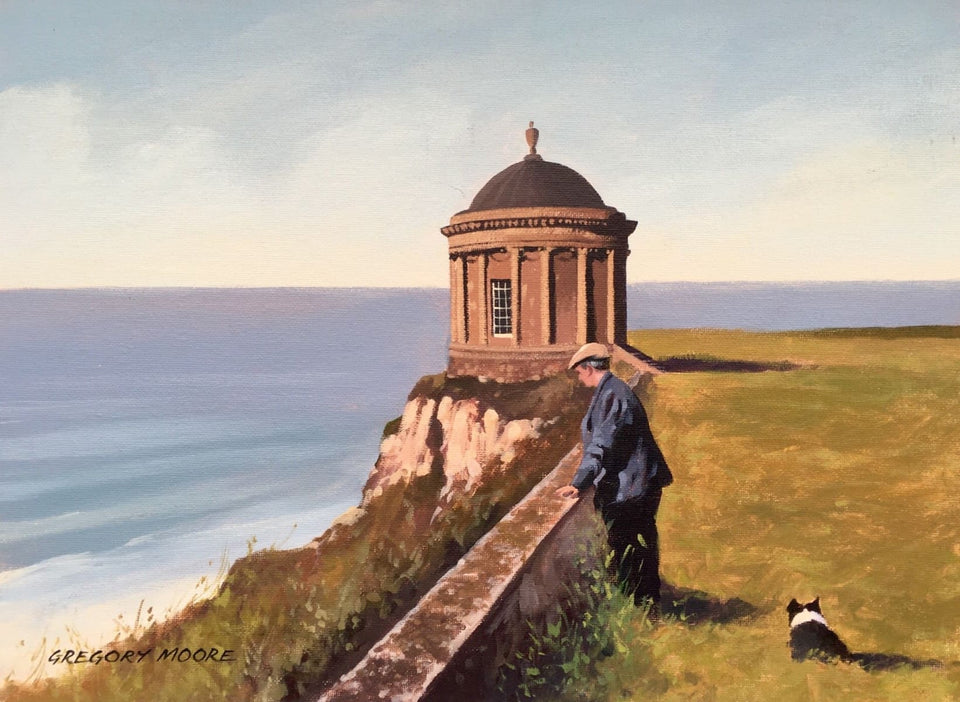 Take It Easy Near Mussenden Temple Downhill Original Artwork