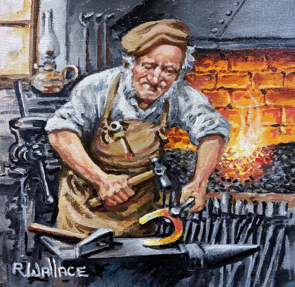 The Blacksmith Original Artwork