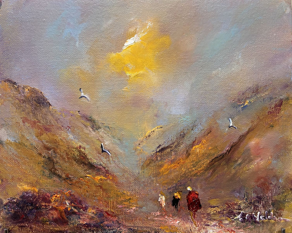 The Glens Of Home Original Artwork