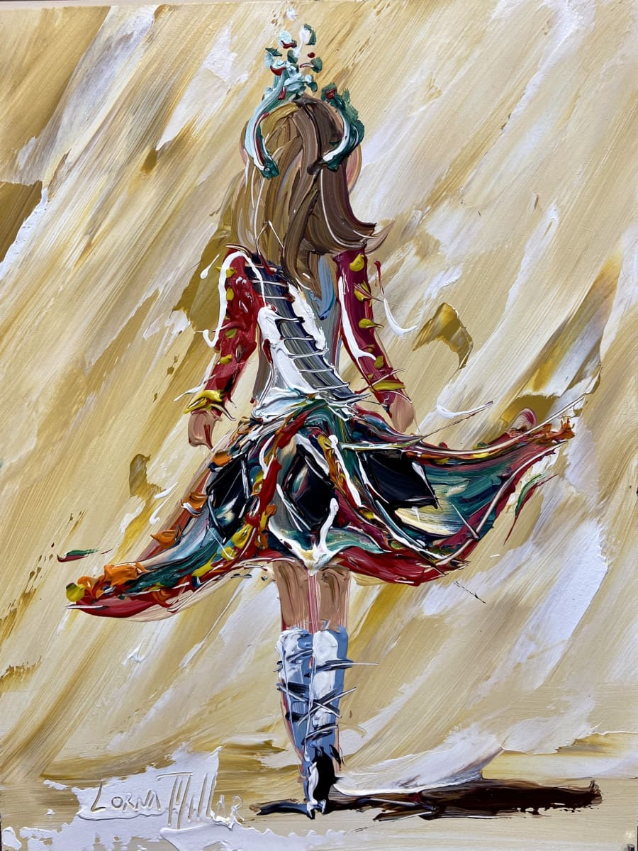 The Irish Dancer Original Artwork