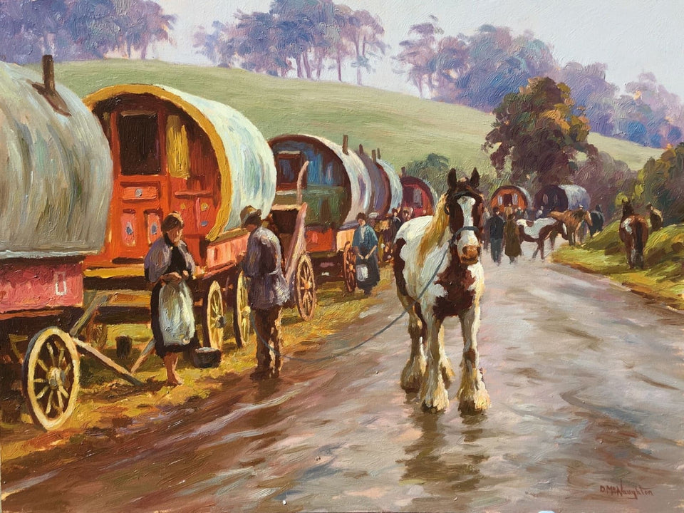 The Travelling People by Donal McNaughton - Original Artwork