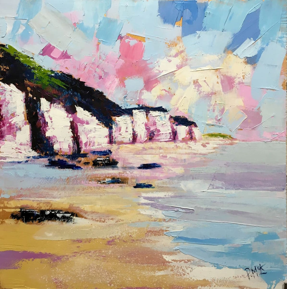 White Rocks Portrush Co.antrim Northern Ireland Original Artwork