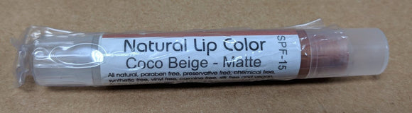 Natural Lip Color; 0.1floz