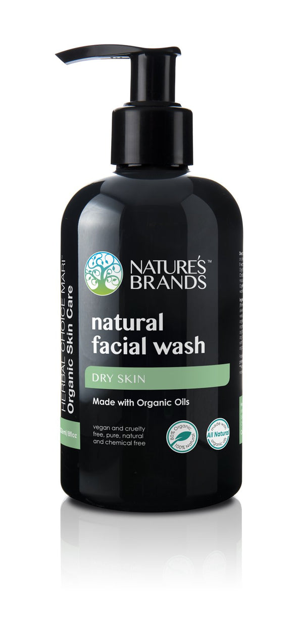 Natural Facial Wash; Made with Organic