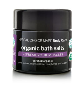 Organic Bath Salts, Refresh Your Muscles