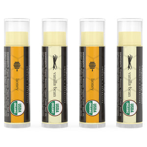 ORGANIC HONEY VANILLA BEAN LIP BALM