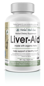 Whole Food Liver-Aid Vegetarian Capsules; 90-Count, Made with Organic