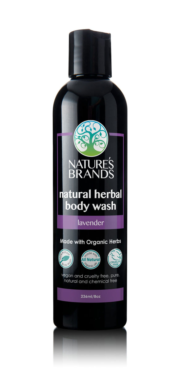 Organic Herbal Body Wash, Lavender
