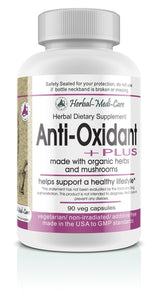 Whole Food Anti-Oxidant PLUS Vegetarian Capsules; 90-Count