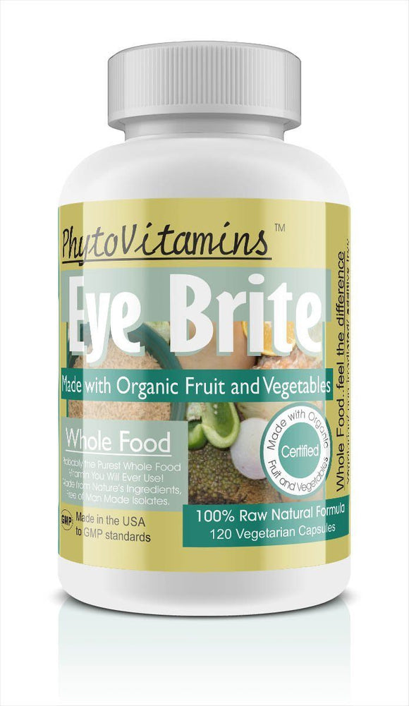 Whole Food Eye Brite Vegetarian Capsules; 120-Count, Made with Organic