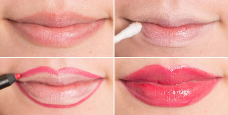 lip liner example