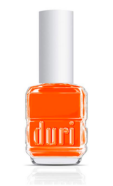 Duri hot orange nail polish summer 2019