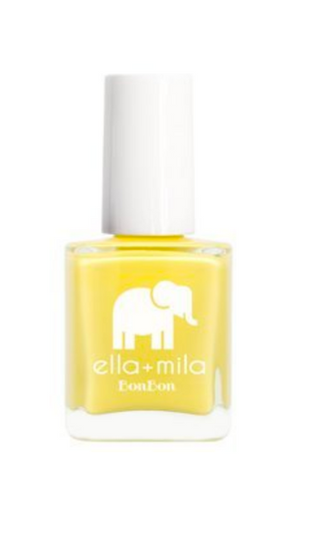 yellow nail polish Ella Mila summer