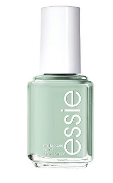 essie light green nail polish