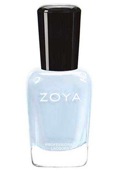 zoya light blue nail polish
