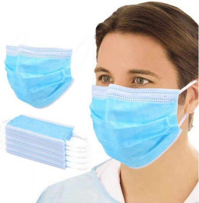 disposable face mask 50 count
