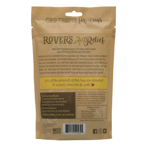 Rover's Relief CBD Dog Treats DUCK - 1MG - 100% THC Free FOR DOGS